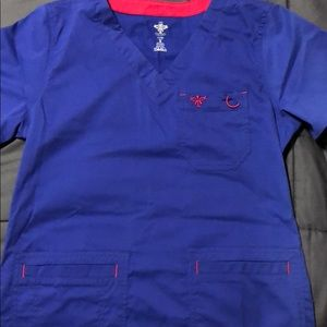 Med couture small women's scrub top